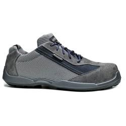 Δερμάτινα παπούτσια εργασίας SOCCER S1P SRC Νο41 γκρι, BASE