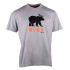 Beer T-shirt short sleeves LIGHT HEATHER GREY L