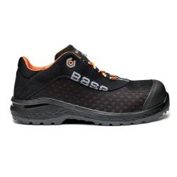 Υφασμάτινα παπούτσια εργασίας BE-FIT S1P SRC Νο45 μαύρο/πορτοκαλί, BASE