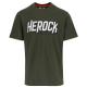 logo t-shirt short sleeves DARK KHAKI M