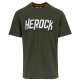 logo t-shirt short sleeves DARK KHAKI S
