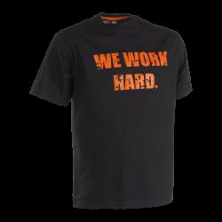 Anubis T-shirt short sleeves BLACK XXL