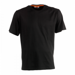 Argo T-shirt short sleeves BLACK XXL
