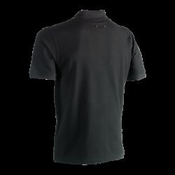 Leo polo short sleeves BLACK XL