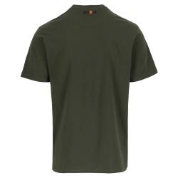 logo t-shirt short sleeves DARK KHAKI S